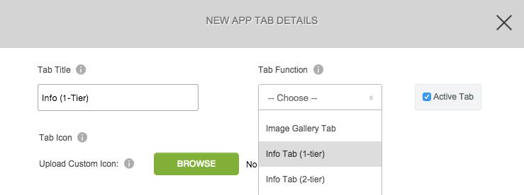 Info Tab (versión 2)