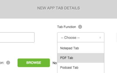PDF Tab