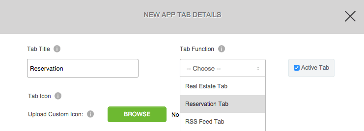 Reservas Tab
