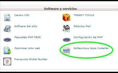 Softaculous: Servicio rápido de instalación de Scripts