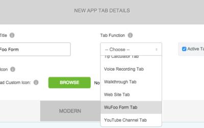 WuFoo Formulario Tab